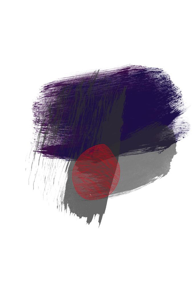 violet grau form