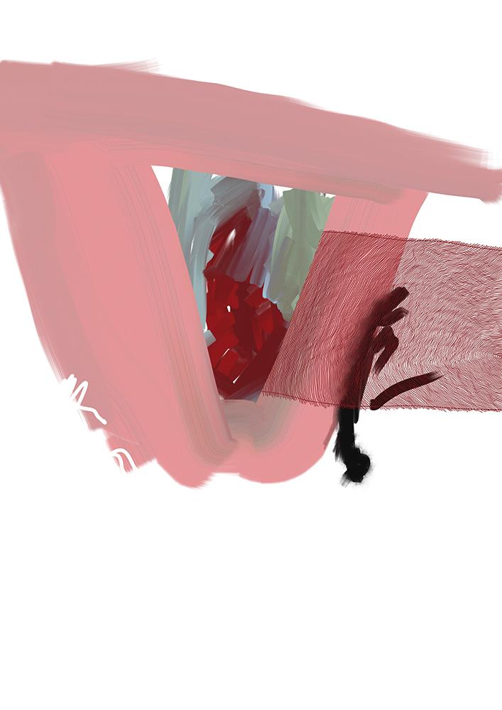rosa fenster noch