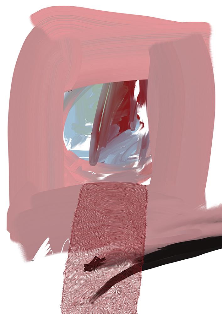 rosa fenster